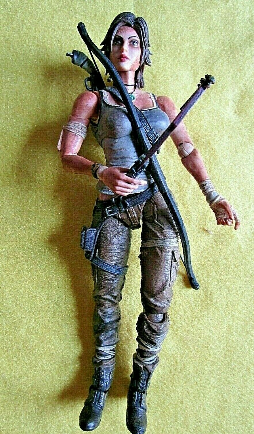 Authentic Square Enix Tomb Raider Painted PVC Lara Croft Play Arts KaiVersion 1