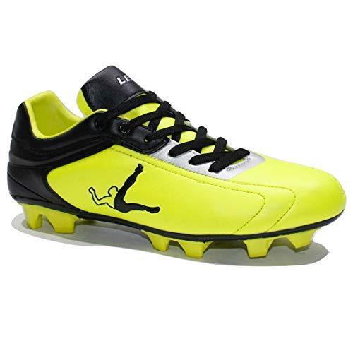 Sa528 40 pour 41 noir 45 jaune Legea de Soccer hommes Rull Chaussures 42 44 43 Bfx8S1