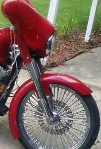 yamaha-roadstar-21-034-Inch-Wrap-Fiberglass-Front-Stretched-Fender