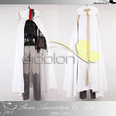 EE0288AA LOG HORIZON Shiroe Cosplay Costume