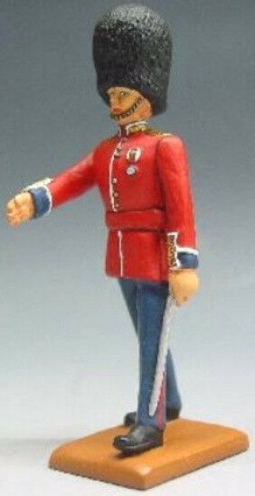 KING & COUNTRY BRITISH SCOTS GUARD BG01 GUARDS OFFICER MIB