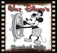 Mickey Mouse Fridge Magnet 1 Logo 7. 4 X 4. Steamboat Willie.....free Ship