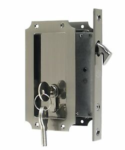 Etonnant Image Is Loading FPL Manor Pocket Door Mortise Lock With Double