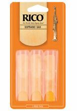 D/'Addario Rico RRP05SSX150 Plasticover 1.5 Strength Reeds Soprano Sax Pack of 5