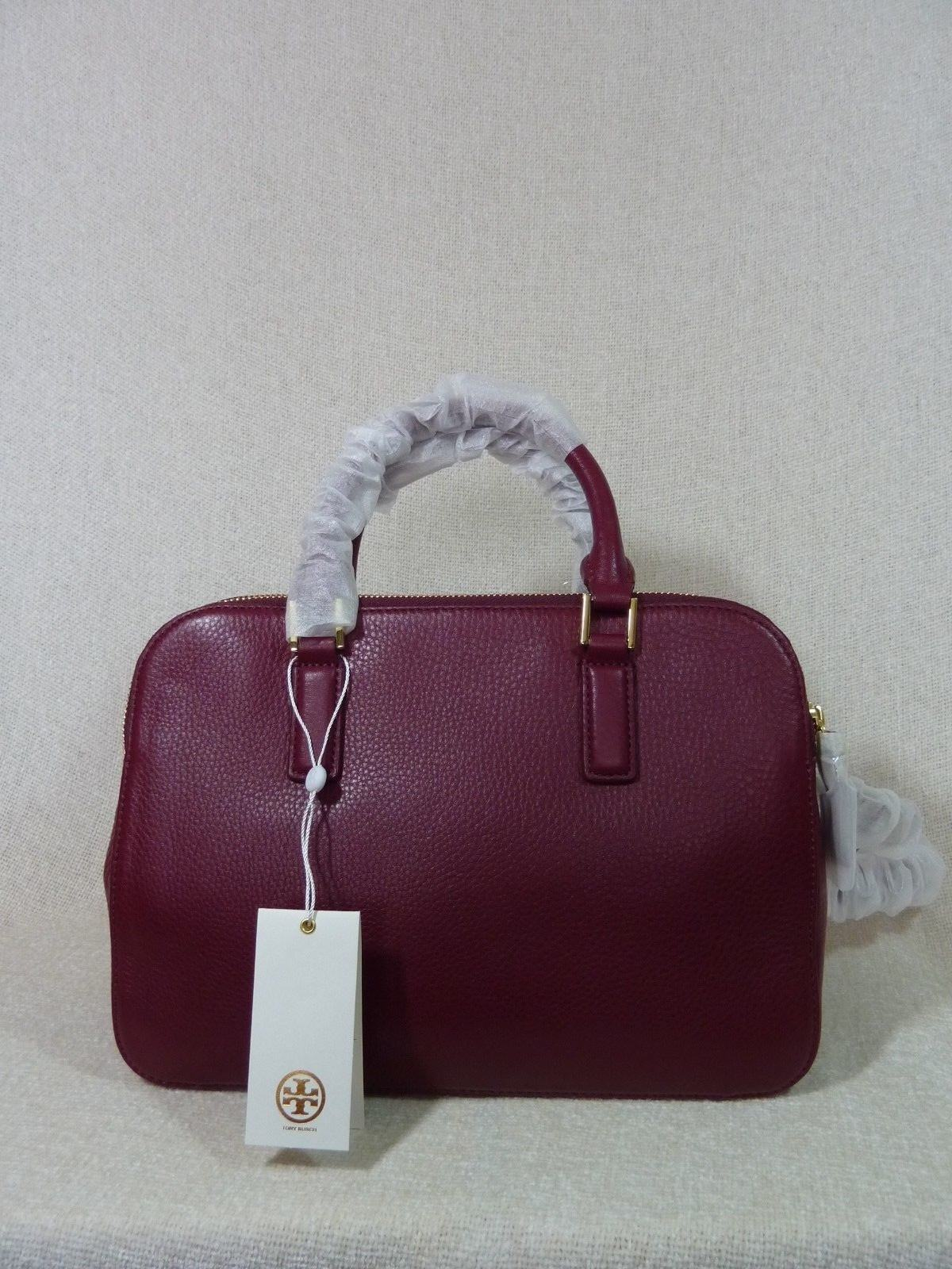 70cea8b3d7ff Tory Burch Thea Small Rounded Double Zip Shiraz Satchel Handbag 41159702  for sale online