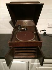 HMV His Masters Voice Wind Up Wooden Gramophone Speaker Model-103 Collectable