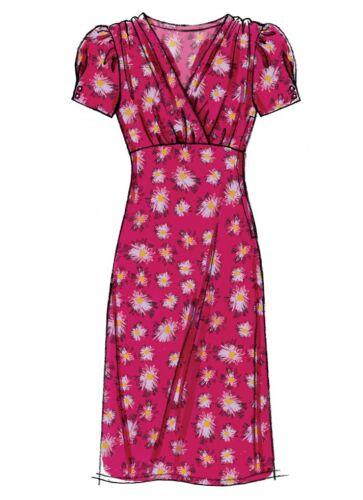 ... Gratis Reino Unido P/&p patrón de costura simplicidad Damas 8292 vestidos en 4 estilos