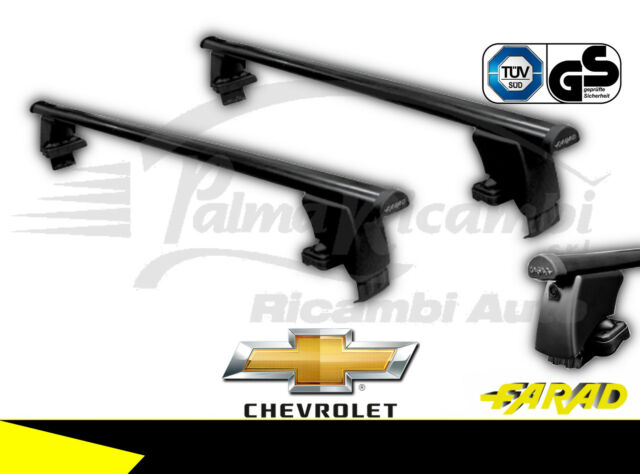 IRON130+BS12 Barras de Techo FARAD Hierro Chevrolet Cruze De 2009