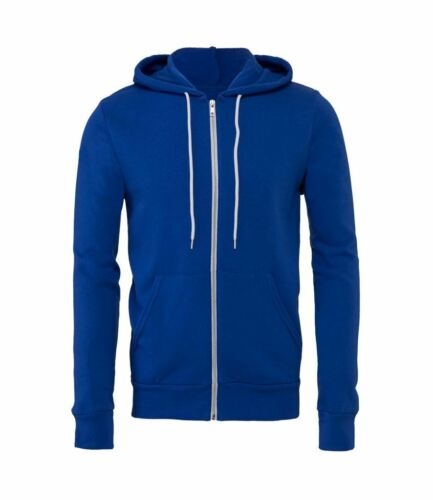 Fashion Modern Colours and Designs Canvas Unisex Stylish Full Zip Hoodie