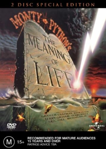 1 of 1 - Monty Python's Meaning Of Life (DVD, 2003, 2-Disc Set) NEW STILL SEALED