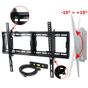Tilt-Flat-TV-Wall-Mount-32-40-50-55-60-65-LCD-Plasma-70-75-LED-HDTV-Bracket-BG3