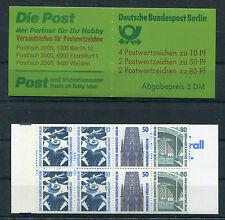 Berlin MH 14 postfrisch Markenheftchen SWK Sehenswürdigkeiten 796C,796D,794C,794