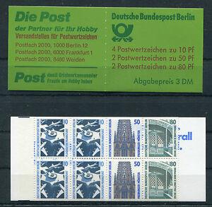 Berlin-MH-14-postfrisch-Markenheftchen-SWK-Sehenswuerdigkeiten-796C-796D-794C-794