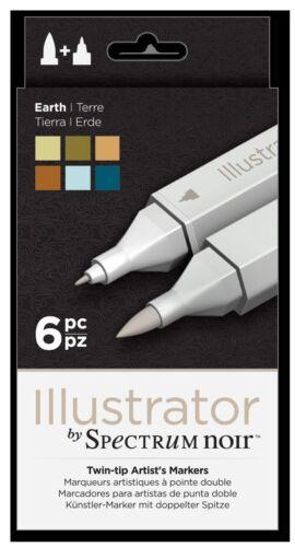 Illustrateur Stylos Neuf Produit Crafters Companion Spectrum Noir