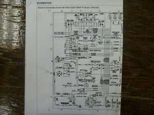 Ingersoll Rand SD70TF SD77TF Compactor Roller Electrical Wiring Diagram  Manual | eBayeBay