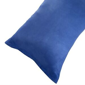 Microsuede-Body-Pillow-Cover-Pillowcase-Zippered-Washable-51-x-17-inches