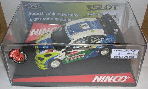 NINCO FORD FOCUS WRC WRC WRC CHAMPIONNAT 3 SLOT EDITION LIMITÉE 50 UNITÉS 6020cc