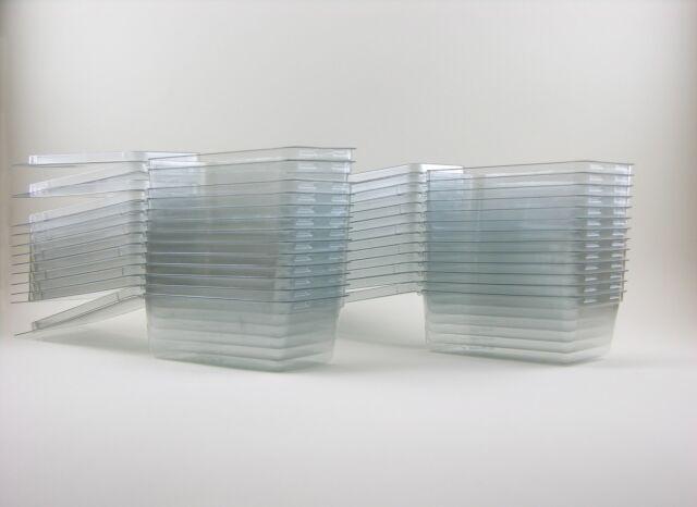 25 - Hot Wheels Plastic Car Cases - MEDIUM Blister Boxes (Brand new clamshells)