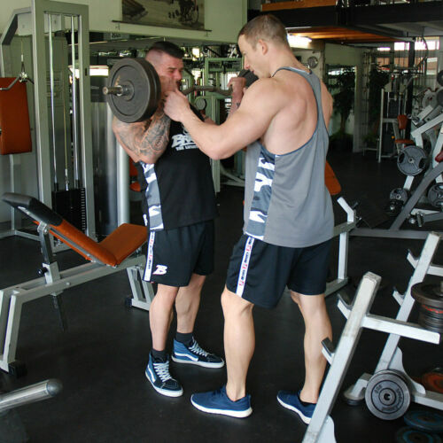 Brachial Short Feeling Schwarz Bodybuilding Fitness black