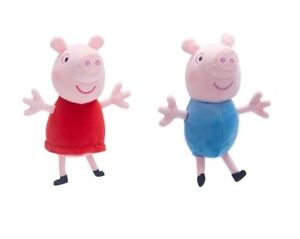 Peppa-Pig-Weich-Pluesch-Spielzeug-George-Super-Soft-Beanie-Plushies-16cm