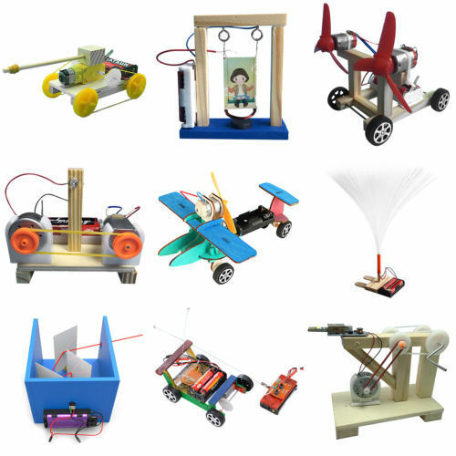 DIY Dynamo Generator Model Wood Invention Science Experiment Educational Toys