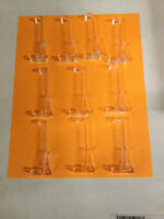 (lot Of 10) 3 Valance Clips For Horizontal Wrap Around Blind Clips (new)