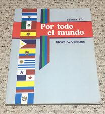ABeka SPANISH 1 (Student Text 1B Test Key)   SAVE Por todo el mundo  B