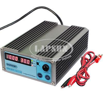 Adjustable DC 30V 10A Digital Precision Switch Power Supply 110V 220V AC 3010 US