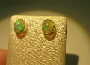 Edel-Opal-Ohrstecker-Opal-Earrings-925-Silber-Nr-E8055