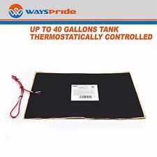 """12"""" x 18"""" RV 12V Trailer Water Holding Tank Automatic Thermostat Heater Pad"""