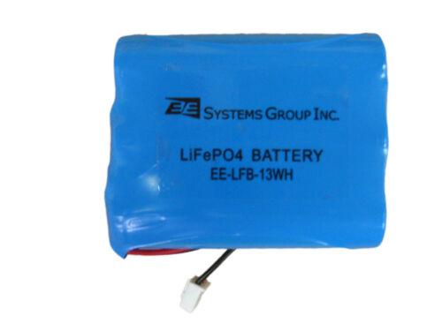 LiFePO4 Rechargeable Lithium Battery 9.6v 16v