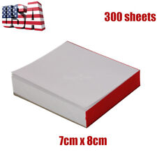 3 Pads Disposable Dental Mixing Pads Paperpoly Impression Coated 2 Side 7 X 8cm