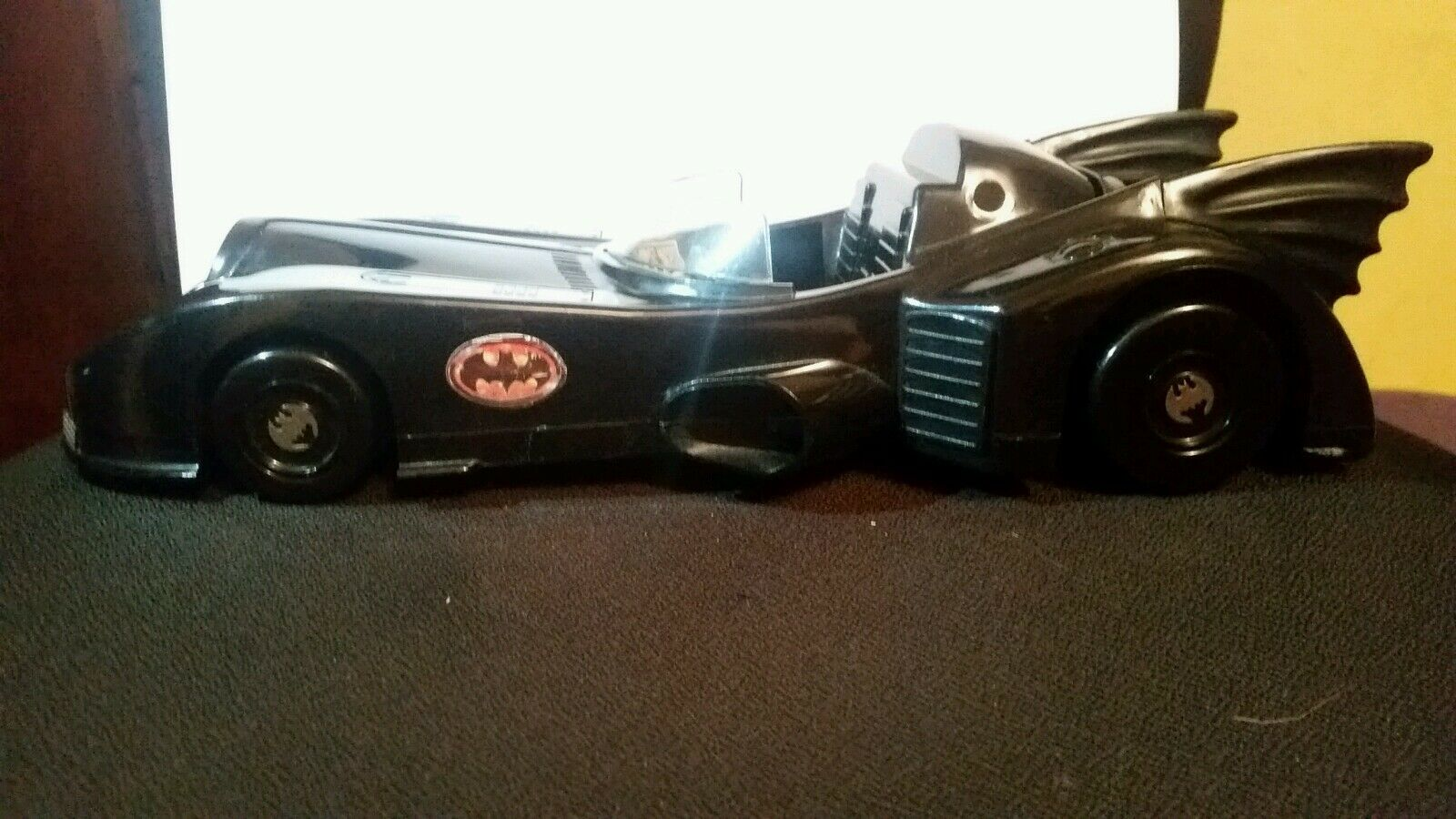 Batmobile w  batman figurine 1989