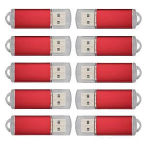 1-10Stück 1G 2G 4G 8G 16G 32GB 64GB USB 2.0 Speichermedien Stick Flash Drive Pen
