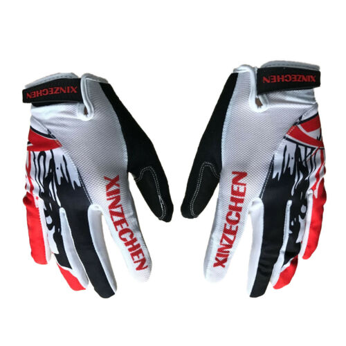 Touch Screen Cycling Full Finger Glove Racing Motorcycle Bicycle Gloves M-XL