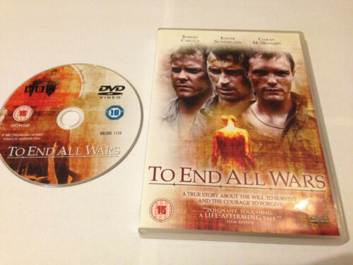 1 of 1 - TO END ALL WARS DVD - Robert Carlyle - Kiefer Sutherland - UK RELEASE REGION 2