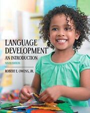 Language Development : An Introduction by Robert E., Jr. Owens (2014, Paperback)