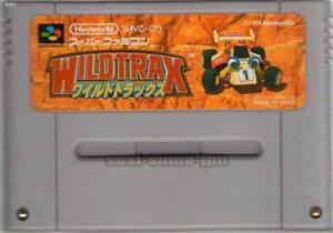 WILDTRAX-WILD-TRAX-STUNT-RACE-FX-SFC-SNES-SUPER-FAMICOM-NINTENDO-JAPAN
