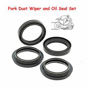 Fork-Oil-amp-Dust-Wiper-Seal-Set-For-Kawasaki-KX250-KX125-1996-2001-KX125-1989