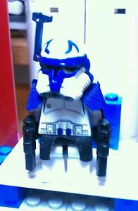 Lego Star Wars Custom Captain Rex With Phase 2 Armor Ebay