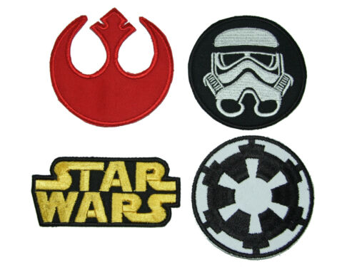 NEW STORM TROOPER /& JEDI ORDER Embroidered Patch Collection STAR WARS