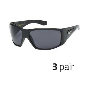 be0967d2e4940 3x Large OG Real Locs Sunglasses Dark Gangster Shades Men Loc Glasses Black