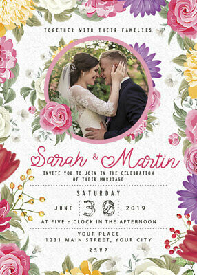 Wedding Invitation Cards , 3 Template, Editable, Photoshop ...