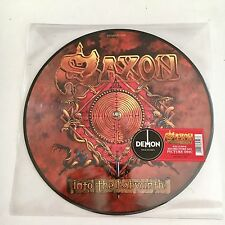 SAXON  Into the Labyrinth  LP PICTURE DISC  /  RSD 2017