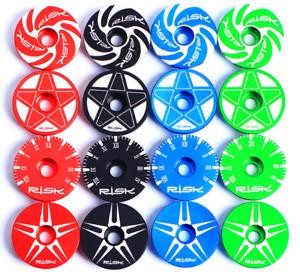 LIGHT-ALLOY-BICYCLE-HEADSET-STEM-TOP-CAP-COVER-amp-BOLT-MTB-FIXIE-ROAD-BMX-COLOURS