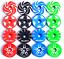 LIGHT-ALLOY-BICYCLE-HEADSET-STEM-TOP-CAP-COVER-amp-BOLT-MTB-FIXIE-ROAD-BMX-COLOURS thumbnail 1