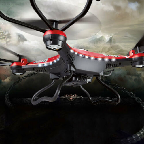 2.0MP Quadcopter FPV RC Quadcopte Camera HD RTF Helicopter 37B2 Red Drone