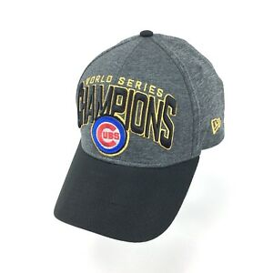 ae7e98d0da5 Chicago Cubs Grey New Era 2016 World Series Champions MLB Hat Cap