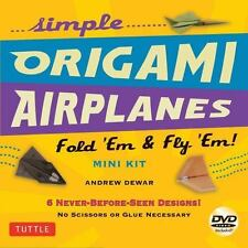 Simple Origami Airplanes Mini Kit: Fold 'Em & Fly 'Em! [Origami Kit with Book, 2