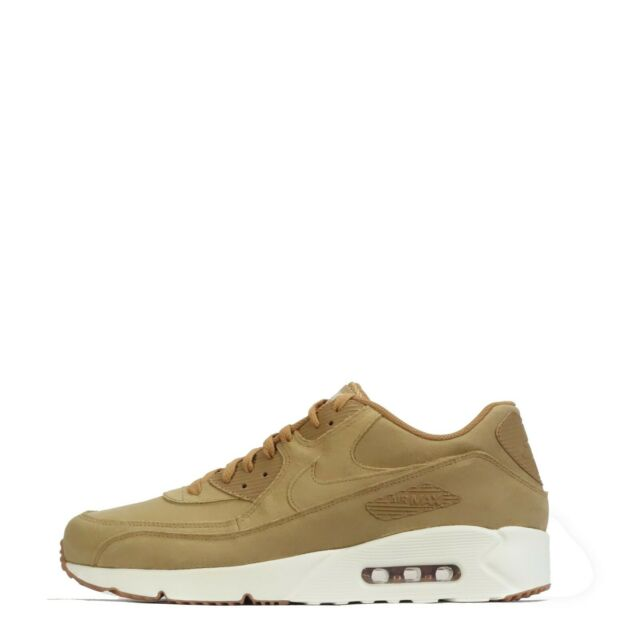 4dae4b52aa Mens Nike Air Max 90 Ultra 2.0 Suede & Leather Brown Shoes Trainers ...